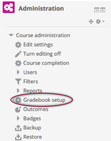 Gradebook - In Menu